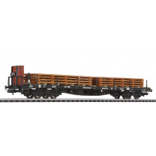 Liliput L235758 Flat Wagon with Sawn Timber Load DRG Ep.II (D)