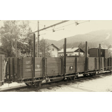 Liliput L245400 (D) Open Goods Wagon with Brakeman's Cab DR Ep.II