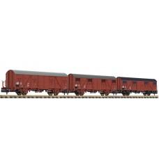 Liliput L260133 3-unit set, Gos 1404, DR, period IV, 1988, platform