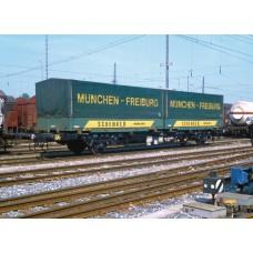 Liliput L265220 DB Intermodal Wagon Lgjs 571 'Schenker' Ep.IV