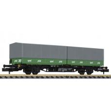 Liliput L265221 DB Intermodal Wagon Lgjs 571 'Hans Pfab' Ep.IV