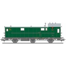 Liliput L334401 (D) Baggage Coach Pw3 Pr11 DRG, Ep.II (D)