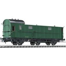 Liliput L334405 Baggage Coach Pw3 37.407 SNCB Ep.II