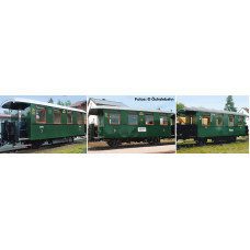 Liliput L340500 3-unit set coaches